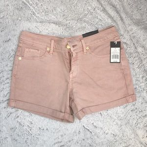 Mossimo light pink jean shorts